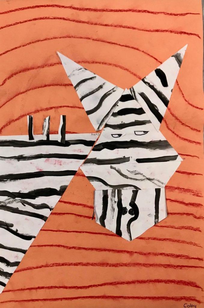 Vasarely Zebras
