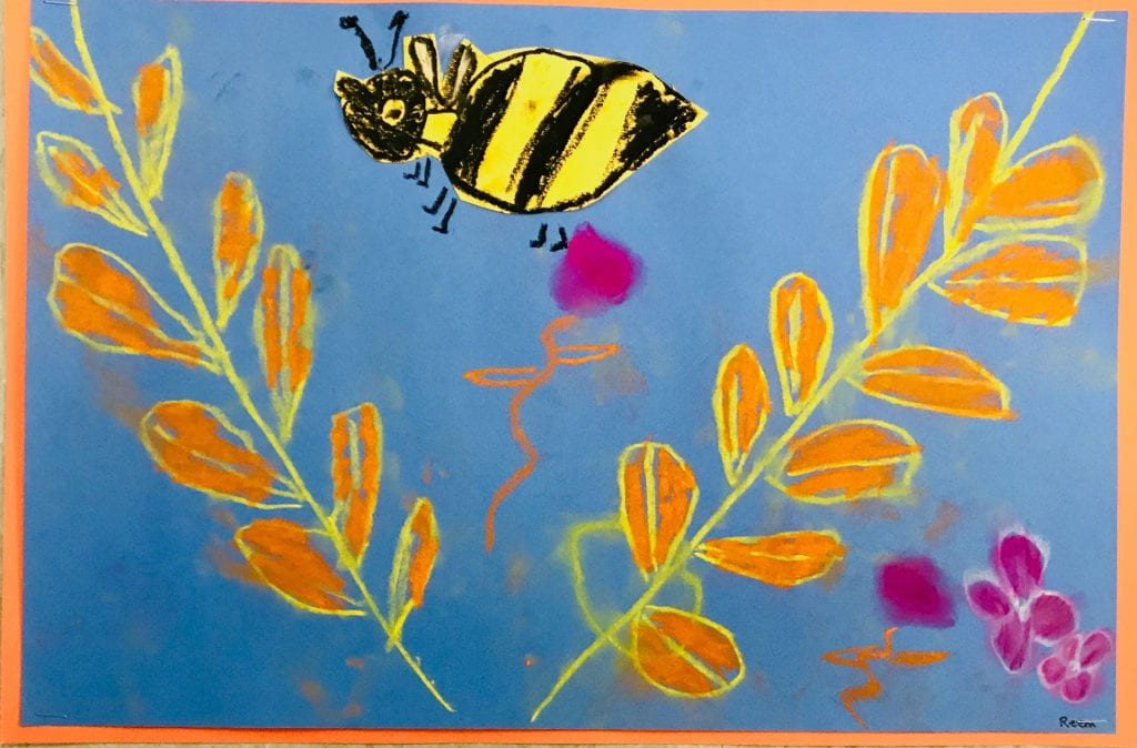 Rosh Hashanah Honey Bees